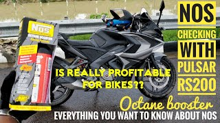 Download NOS OCTANE BOOSTER ON PULSAR RS200 | EVERYTHING YOU WANT TO KNOW ABOUT Video
