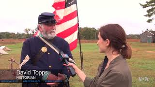 Download Civil War Re-enactors Weigh in on Confederate Monuments Controversy Video