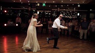 Download BEST surprise father daughter wedding dance to epic song mashup | Utah Wedding Videographer Video