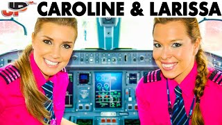 Download Caroline & Larissa pilot the Embraer E-195 out of Campinas Video