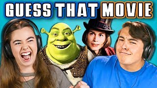 Download TEENS GUESS THAT MOVIE CHALLENGE (REACT) Video