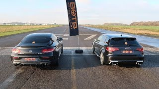 Download DRAG RACE! MERCEDES-AMG C63 VS AUDI RS3! Video