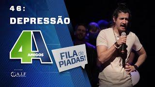Download FILA DE PIADAS - DEPRESSÃO - #46 - Feat:. Mauricio Meireles Video
