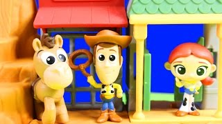 Download Disney Pixar Toy Story Western Adventure Minis Playset Woody To The Rescue Video