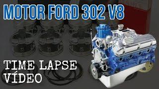 Download A Montagem do Motor Ford 302 V8 mostrada em 4 minutos - TIME LAPSE VÍDEO Video