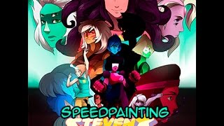 Download Steven Universe Speed Painting - ALL TOGETHER Video