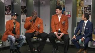 Download Allen Iverson, Shaq & Yao Ming funny interview (2016) *Basketball Hall of Fame Video