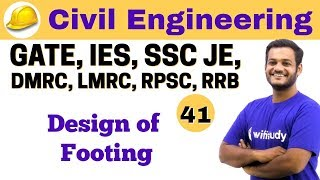 Download 4:30 PM - Civil by Nikhil Sir | Day #41 | Design of Footing Video