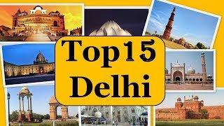 Download Delhi City Tour | Famous 15 Tourist Places in Delhi 2018 Video
