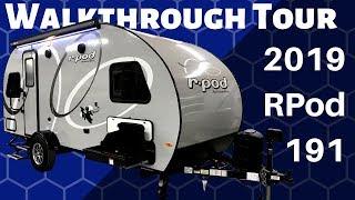 Download 2019 RPod 191 Travel Trailer Walkthrough Tour Video