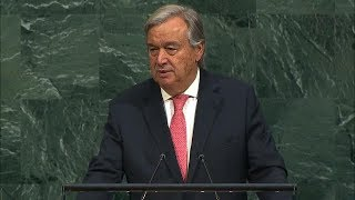 Download António Guterres (Secretary-General) Addresses General Debate, 72nd session Video