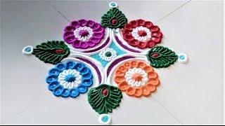 Download Creative Daily Rangoli Designs by Shital Mahajan. Video