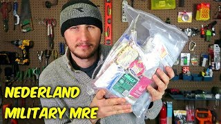Download Testing Nederland Military MRE (Meal Ready to Eat) Video