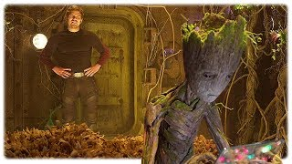 Download Guardians of the Galaxy 2 Teen Groot Extended Scene (2017) Video