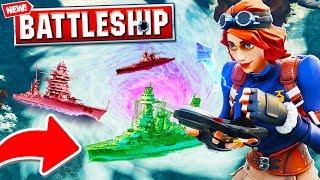 Download *NEW* BATTLESHIPS 2V2 In Fortnite Battle Royale! | w/ Vikkstar123, KYRSP33DY & SideArms Video