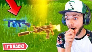 Download the Drum Gun is *BACK* in Fortnite! Video
