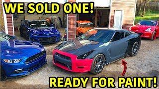 Download Rebuilding A Wrecked 2013 Nissan GTR Part 5 Video