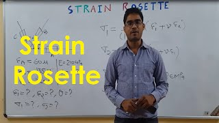 Download Strain Rosette (GATE Lecture in Hindi) (New in GATE-2016 Mechanical) Video