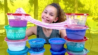 Download Huge Slime Collection Review! (Haschak Sisters) Video