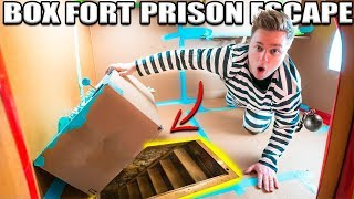 Download 24 HOUR BOX FORT PRISON ESCAPE ROOM!! 📦🚔 Secret UNDERGROUND Tunnel, SPY GADGETS & More! Video