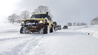Download EXTREME SNOW OFFROAD **Land Rover's & Jeep GC 5.9** 01/2017 Video