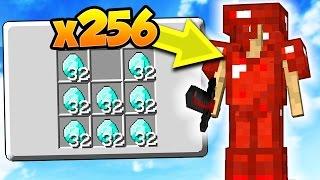 Download INSANE x256 DIAMOND GOD SET!   Minecraft MONEY WARS Video