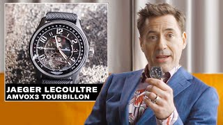 Download Robert Downey Jr. Shows Off His Epic Watch Collection | GQ Video