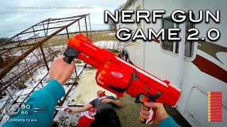 Download Nerf meets Call of Duty: Gun Game 2.0   First Person in 4K! Video