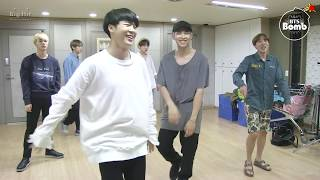 Download [BANGTAN BOMB] RM and Jin Dance Stage Behind the scene for BTS DAY PARTY 2016 - BTS (방탄소년단) Video