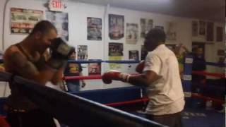 Download Floyd Mayweather Sr Sucker Punched While Sparring with Charlie Zelenoff Video