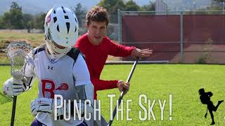 Download Lacrosse Skool - Kyle Hartzell Teaches The Over The Head Check Video