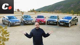 Download BMW X3, Volvo XC60, Alfa Romeo Stelvio, Audi Q5, Jaguar F-Pace | Prueba SUV 2018 | coches Video