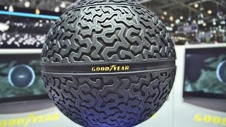 Download The Spherical Tire by Goodyear - Technical Features Video