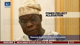 Download Stop Playing Politics, Obasanjo Reacts As Buhari Welcomes Confrontation 22/05/18 Pt.1  News@10  Video