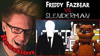 Download Freddy Fazbear vs. Slenderman (60fps) - Video Game Rap Battle REACTION!   BRING IT ON!!!   Video