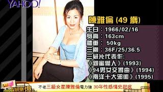 Download 【Yahoo娛樂爆】不老三級女星陳雅倫電力強 30年性感情史起底 Video