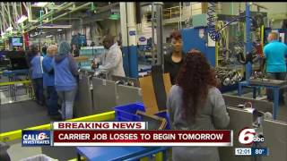 Download Carrier job losses to begin Thursday Video