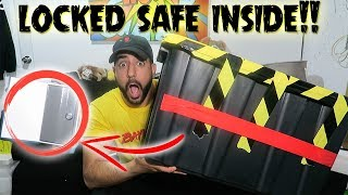 Download (LOCKED SAFE INSIDE) GOT A MYSTERY BOX OFF THE DARK WEB//POLICE EVIDENCE BOX Video