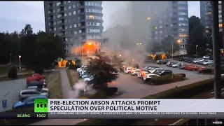 Download Sweden struck by coordinated arson attacks 3 weeks before elections Video