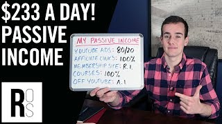 Download HOW I MAKE $7,000 A MONTH IN PASSIVE INCOME 🤑 (My 5 Online Income Streams Explained!) Video