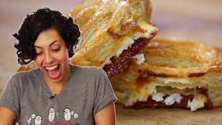 Download Latinos Try Cuban Guava and Cheese Pastries Video