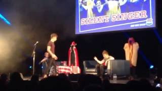 Download Joe & Caspar Hit The Road USA Live - The Silent Singer Challenge - 30/10/2016 - London Video