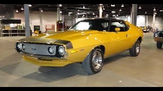 Download 1971 American Motors AMC Javelin AMX 401 in Mustard Yellow Paint on My Car Story with Lou Costabile Video