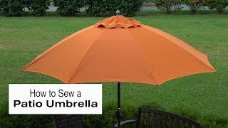 Download How to Sew a Patio Umbrella Video