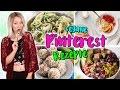 Download Ich teste 4 gesunde Pinterest Rezepte! Schmeckt das wirklich?! TheBeauty2go Video