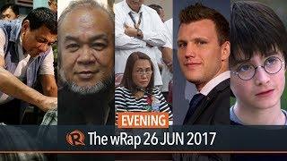 Download Duterte, Soganub, Harry Potter | Evening wRap Video