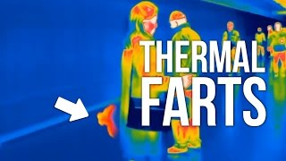 Download PEOPLE FARTING ON THERMAL CAMERA Video