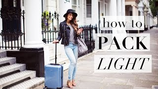 Download How To Pack Light for Travel Video