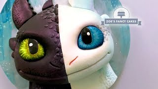 Download Night Fury cake Light Fury How To Train Your Dragon, birthday cake ideas Video