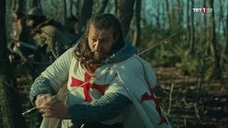 Download Diriliş Ertuğrul 99.Bölüm-Ertuğrul Bey'in, Nikea'dan Gelen Haçlılara Hadlerini Bildirmesi Video